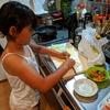 娘の手料理。