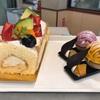 夢の樹で、バースデーケーキ買ったついでに、パンプキンタルトと紫芋タルト買いました。