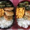 今日の井川メンパ弁当〜野菜入りつくね〜