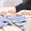 ジーンズをリメイクしてマキシスカートを作る(NHKソーイング・ビーに刺激され・・・)