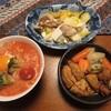 牡蠣のトマト雑炊