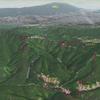 下筒香の西の谷から七霞山へ