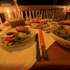 ベイサイドのレストランで夕食 Six Senses Ninh Van Bay