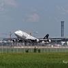 バンコクスワンナプーム空港(BKK)での飛行機撮影