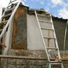 塀修理1(古い土塀の簡易補修06)