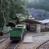 熊野の秘湯、湯ノ口温泉へ。トロッコに乗って貸切温泉を満喫する。