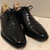 革靴のお手入れは鏡面仕上げでフィニッシュ❗スコッチグレインの巻