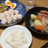 鶏ハム(レシピ)とサツマイモきんぴら、ポトフ