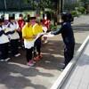 神奈川県公立中学校テニス大会冬季個人戦 大会二日目