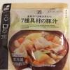 【食べてみた】 セブンプレミアム 7種具材の豚汁 ( セブンイレブン )