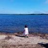 21日め-3 ウトナイ湖で白鳥を見た!