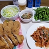 本当に旨い☆給食のきんぴらコロッケ☆&トンカツ☆ナポリタン☆