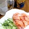 ☆食べてみたい☆サーモン麺☆