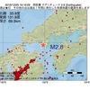 2016年12月25日 19時16分 周防灘でM2.6の地震