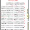 「東方合同祭事 陸」のサークル名入り配置図