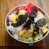 新発見w【1食157円】残り物deおせちらし寿司の作り方~なます+ご飯=大根入りヘルシー酢飯~