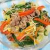ラム肉の蒸し焼き野菜炒め