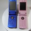 携帯電話 SoftBank 804N 小さくて、厚い、2画面液晶