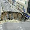 中国で福岡の道路陥没に似たシンクホールとか宮崎市赤江浜(日向灘)で小型クジラ7頭が打ち上げられたとか