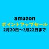 amazonのポイントアップキャンペーンが今日から開催!欲しかったあの商品をゲットしよう!