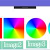 色相環画像作成、WriteableBitmapとImage.Clip