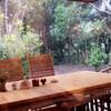森の奥にあるcafé GROVEへ