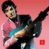 スライドギターの名手、ライ・クーダーをエクセルで描いてみた