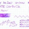 #0889 石丸文行堂 Color Bar Ink Blue Moon