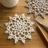#100ドイリー 38枚目の編み図公開しています。
