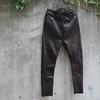 """Recommend / """"RIPVANWINKLE"""" / SOLID LEATHER JERSEY"""
