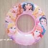 【セリア】ディズニープリンセスの浮き輪を購入。プリンセス好き必見!!