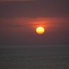 夕日が沈む海岸 — 9月の旅(6)