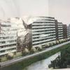 東京都東村山野口橋にルフォン久米川建築中です。
