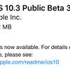 iOS10.3 Public Beta3が利用可能に 「App互換性」追加など
