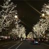 クリスマス・イブのシャンゼリゼ通り