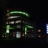 一宮西病院は〔ライトアップinグリーン運動〕に参加しています