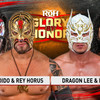 【ROH】メキシコ人レスラー同士がGlory By Honorで激突