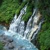 北海道、美瑛にある「白髭の滝」の迫力はすごい!絶景だよ。