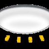 LEDシーリングライトの中身にビックリ!明るさ調節が10段階!交換は?