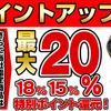 ヨドバシ.com20%ポイント還元セール(12/31まで)