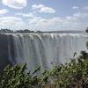 ビクトリアの滝が枯渇…