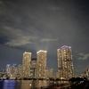 【春海橋公園】東京湾に浮かぶ夜景を眺める【豊洲公園】