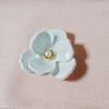白プラバンの花