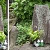 於婆宮(おばのみや)神社にまつられる庚申塔 福岡県北九州市小倉南区蒲生