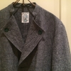FRANK LEDER「FABRIC WASHED MIX GREY LINEN SHORTJACKET」