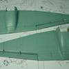 「主翼の組み立てと仮組み」 サイバーホビー1/48 ユンカース Ju88A-4爆撃機