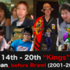 "Top 40 notable Japanese Melee players before Brawl (2001-2008) | ""Kings"" 14th -20th"