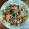 たけのこ鶏挽肉木の芽炒め 洋風ガパオ風