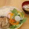 豆腐ハンバーグのきのこあんかけ