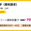 【ハピタス】マンション経営大学(資料請求)で700ポイント!(630ANAマイル)